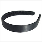 Satin headband (ribbon coating at the back) 20mm