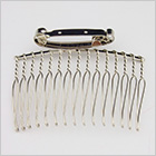 Wire comb with a clip
